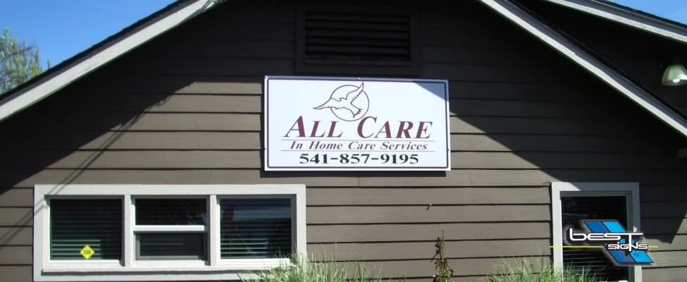 wall sign business medford oregon